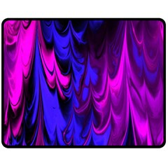 Fractal Marbled 13 Fleece Blanket (medium)