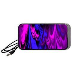 Fractal Marbled 13 Portable Speaker (black)
