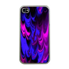 Fractal Marbled 13 Apple Iphone 4 Case (clear)