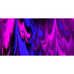 Fractal Marbled 13 BEST SIS 3D Greeting Card (8x4)  Front