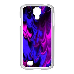 Fractal Marbled 13 Samsung Galaxy S4 I9500/ I9505 Case (white)