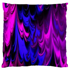 Fractal Marbled 13 Standard Flano Cushion Cases (One Side)