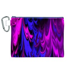 Fractal Marbled 13 Canvas Cosmetic Bag (XL)