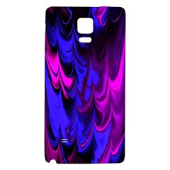 Fractal Marbled 13 Galaxy Note 4 Back Case