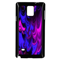 Fractal Marbled 13 Samsung Galaxy Note 4 Case (black)
