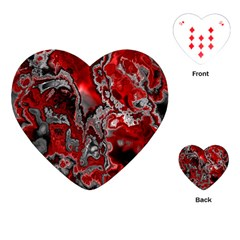 Fractal Marbled 07 Playing Cards (heart)