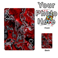 Fractal Marbled 07 Playing Cards 54 Designs