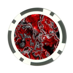 Fractal Marbled 07 Poker Chip Card Guards (10 Pack)