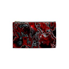 Fractal Marbled 07 Cosmetic Bag (small)