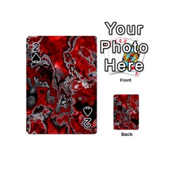 Fractal Marbled 07 Playing Cards 54 (Mini)