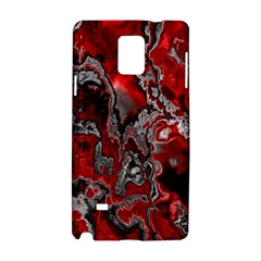 Fractal Marbled 07 Samsung Galaxy Note 4 Hardshell Case