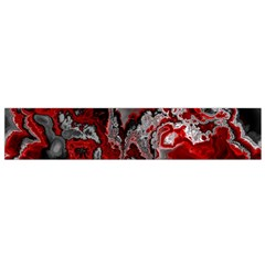 Fractal Marbled 07 Flano Scarf (Small)