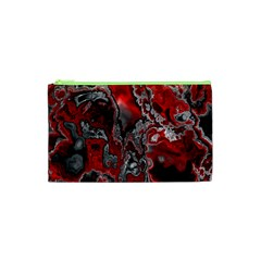 Fractal Marbled 07 Cosmetic Bag (xs)