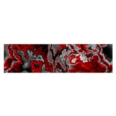 Fractal Marbled 07 Satin Scarf (Oblong)