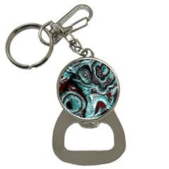Fractal Marbled 05 Bottle Opener Key Chains