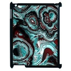 Fractal Marbled 05 Apple Ipad 2 Case (black)