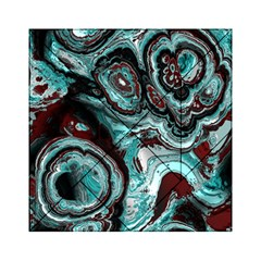 Fractal Marbled 05 Acrylic Tangram Puzzle (6  x 6 )