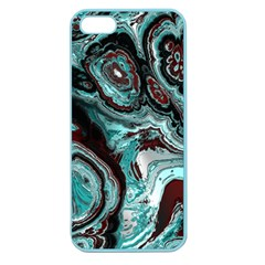 Fractal Marbled 05 Apple Seamless Iphone 5 Case (color)