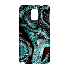 Fractal Marbled 05 Samsung Galaxy Note 4 Hardshell Case