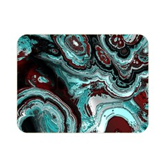 Fractal Marbled 05 Double Sided Flano Blanket (mini)
