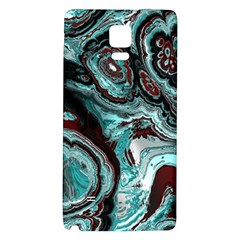 Fractal Marbled 05 Galaxy Note 4 Back Case