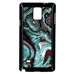 Fractal Marbled 05 Samsung Galaxy Note 4 Case (Black)