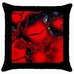Abstract Art 11 Throw Pillow Cases (black)
