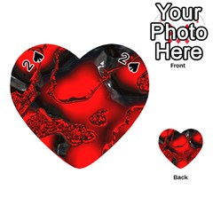 Abstract Art 11 Playing Cards 54 (heart)