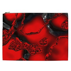 Abstract Art 11 Cosmetic Bag (xxl)