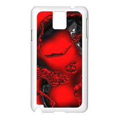 Abstract Art 11 Samsung Galaxy Note 3 N9005 Case (white)