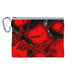 Abstract Art 11 Canvas Cosmetic Bag (L)