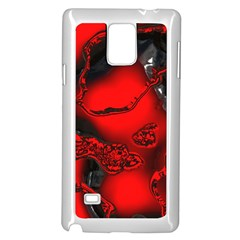 Abstract Art 11 Samsung Galaxy Note 4 Case (white)