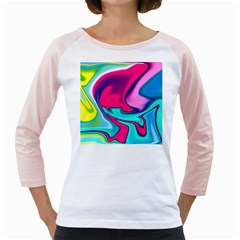 Fluid Art 22 Girly Raglans
