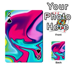 Fluid Art 22 Playing Cards 54 Designs