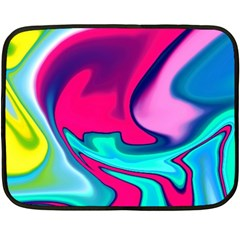 Fluid Art 22 Fleece Blanket (Mini)