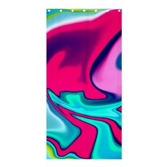 Fluid Art 22 Shower Curtain 36  x 72  (Stall)