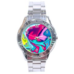 Fluid Art 22 Stainless Steel Men s Watch
