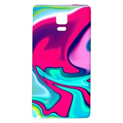 Fluid Art 22 Galaxy Note 4 Back Case