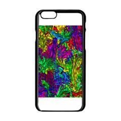 Liquid Plastic Apple Iphone 6 Black Enamel Case