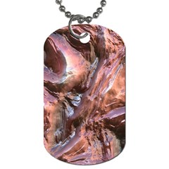 Wet Metal Structure Dog Tag (one Side)