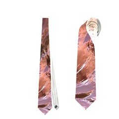 Wet Metal Structure Neckties (One Side)