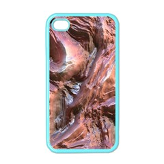 Wet Metal Structure Apple Iphone 4 Case (color)