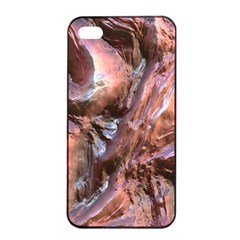 Wet Metal Structure Apple iPhone 4/4s Seamless Case (Black)