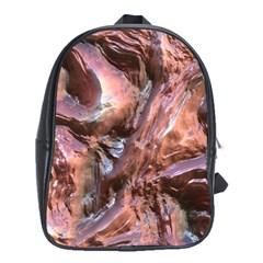 Wet Metal Structure School Bags (xl)