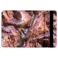 Wet Metal Structure iPad Air 2 Flip