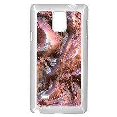Wet Metal Structure Samsung Galaxy Note 4 Case (White)
