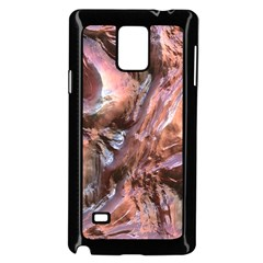 Wet Metal Structure Samsung Galaxy Note 4 Case (Black)