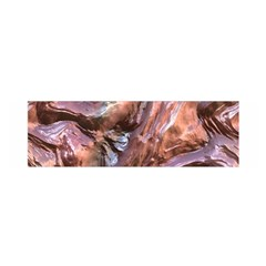 Wet Metal Structure Satin Scarf (oblong)