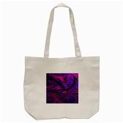 Wet Wallpaper, Pink Tote Bag (Cream)