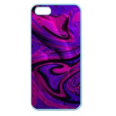 Wet Wallpaper, Pink Apple Seamless Iphone 5 Case (color)